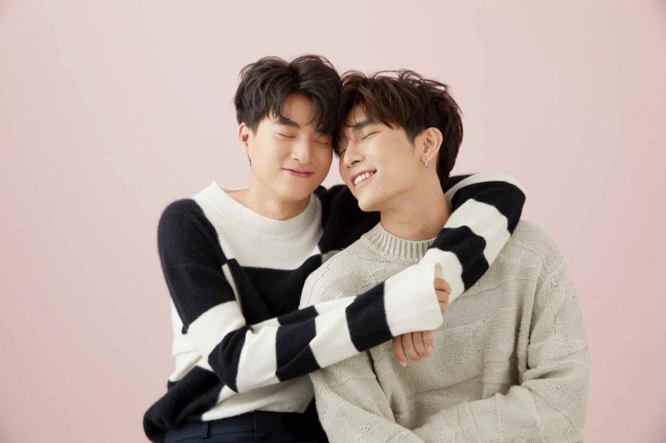 MewGulf is two halves of a BL ship from 'TharnType: The Series'. Here's all the reasons why we're madly in love with castmates Mew Suppasit & Gulf Kanawut.