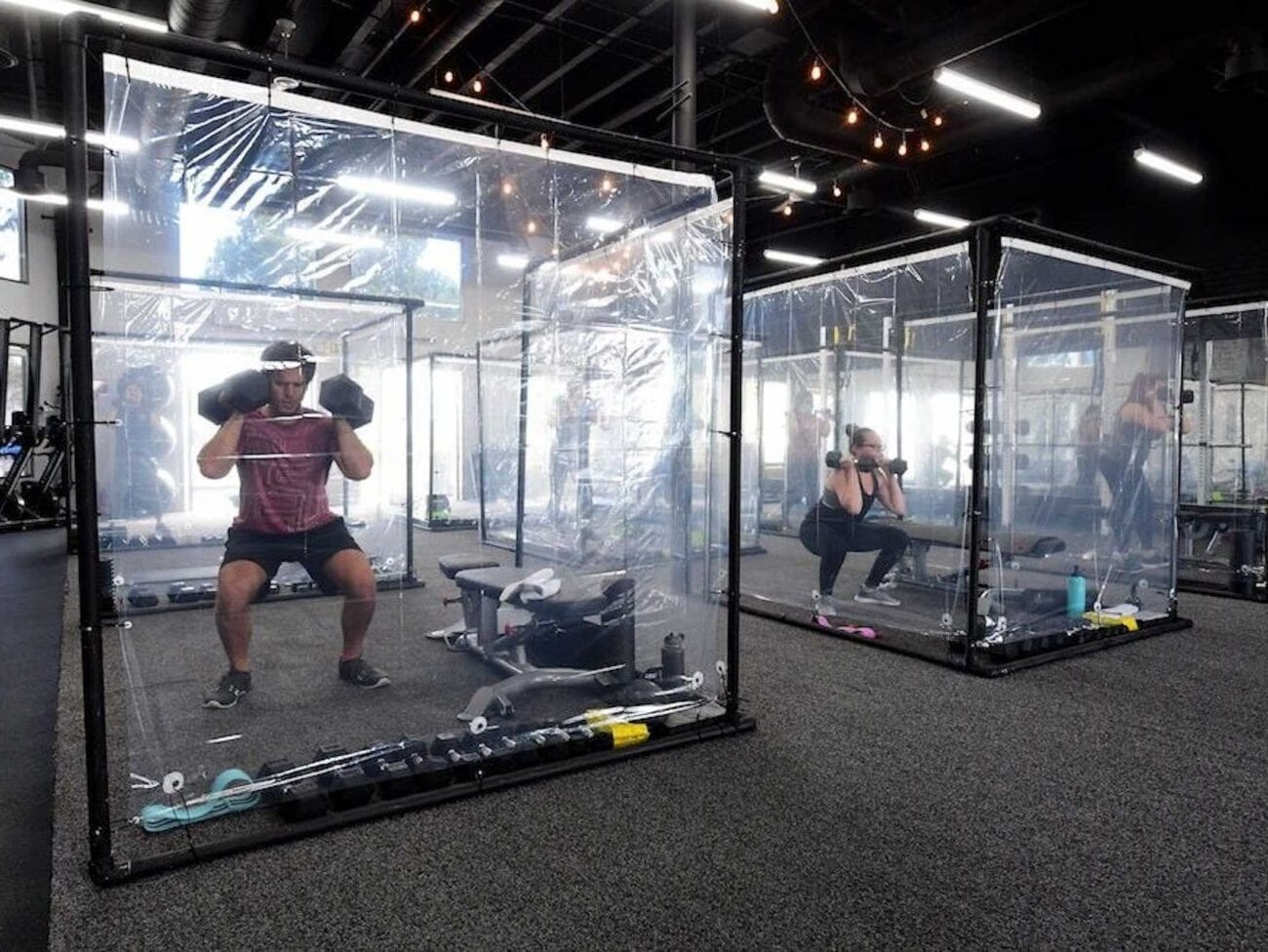 Sick of being stuck indoors and wanting to get your daily workout in? Here's what's happening with 24 hour gyms now.