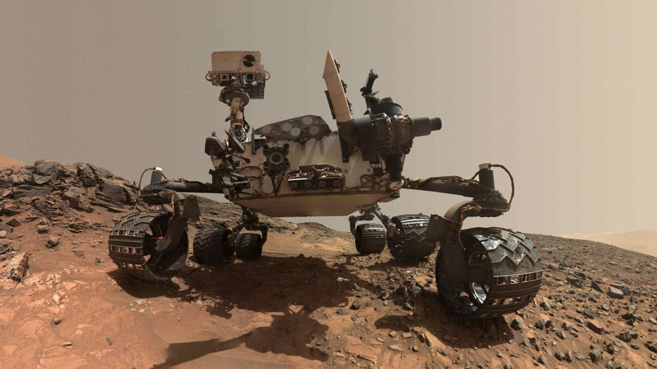 """The Mars rover sends us many striking photos of the Martian landscape. Explore the strange planet and see why """"alien experts"""" think there's life on Mars."""
