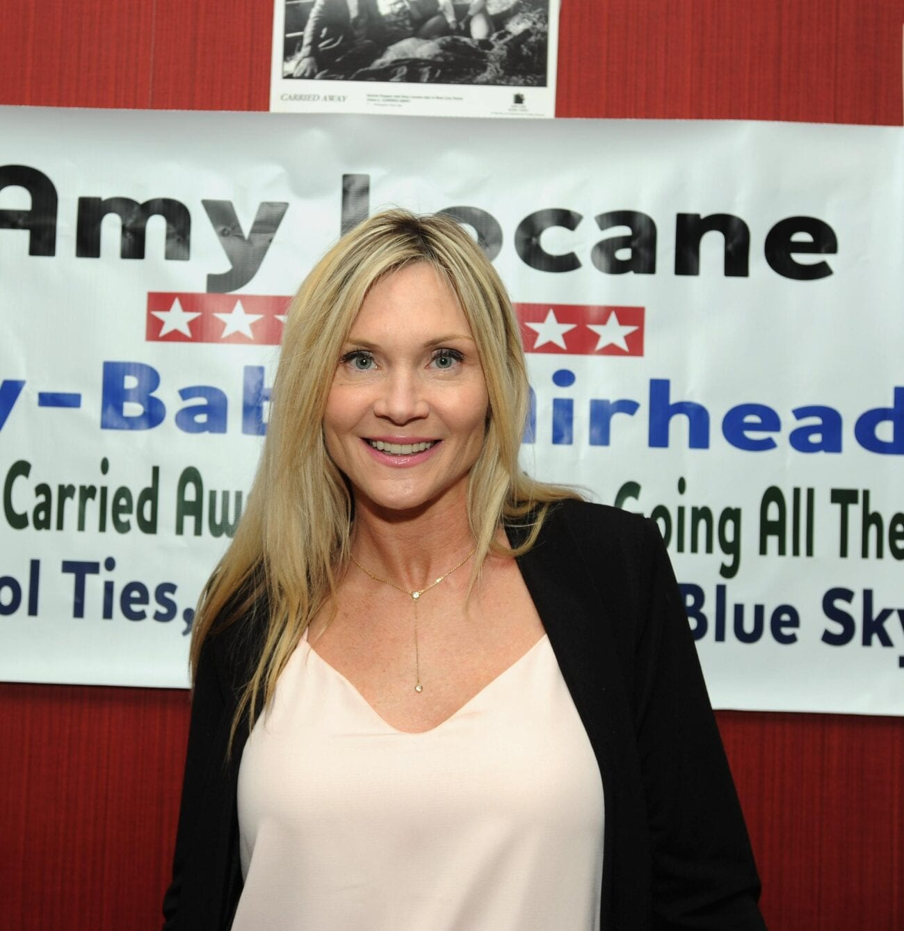 Amy Locane, best known for her work on 'Melrose Place' has been arrested. Here's what we know about the alleged crime.