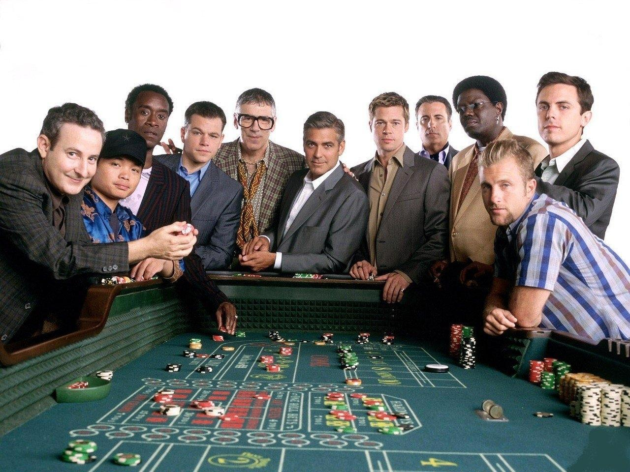 Bellagio Casino is one of the most popular casinos in Las Vegas. Here are other casinos featured in 'Ocean's 11'.