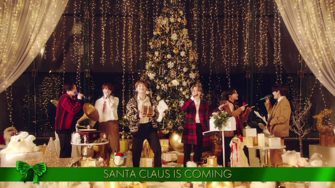 BTS performed 'Santa Claus is Coming to Town' and now we have an itch for the band to make a Christmas album.