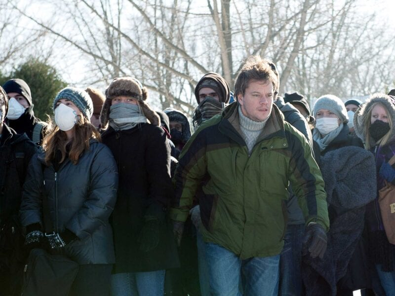 Sick of holiday cheer? Want to return to a pandemic state of mind? Distance yourself from others and watch the full 'Contagion' movie.