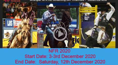 The NFR 2020 national finals in rodeo are going on now. Here's the best places if you want to tune into the competitions.