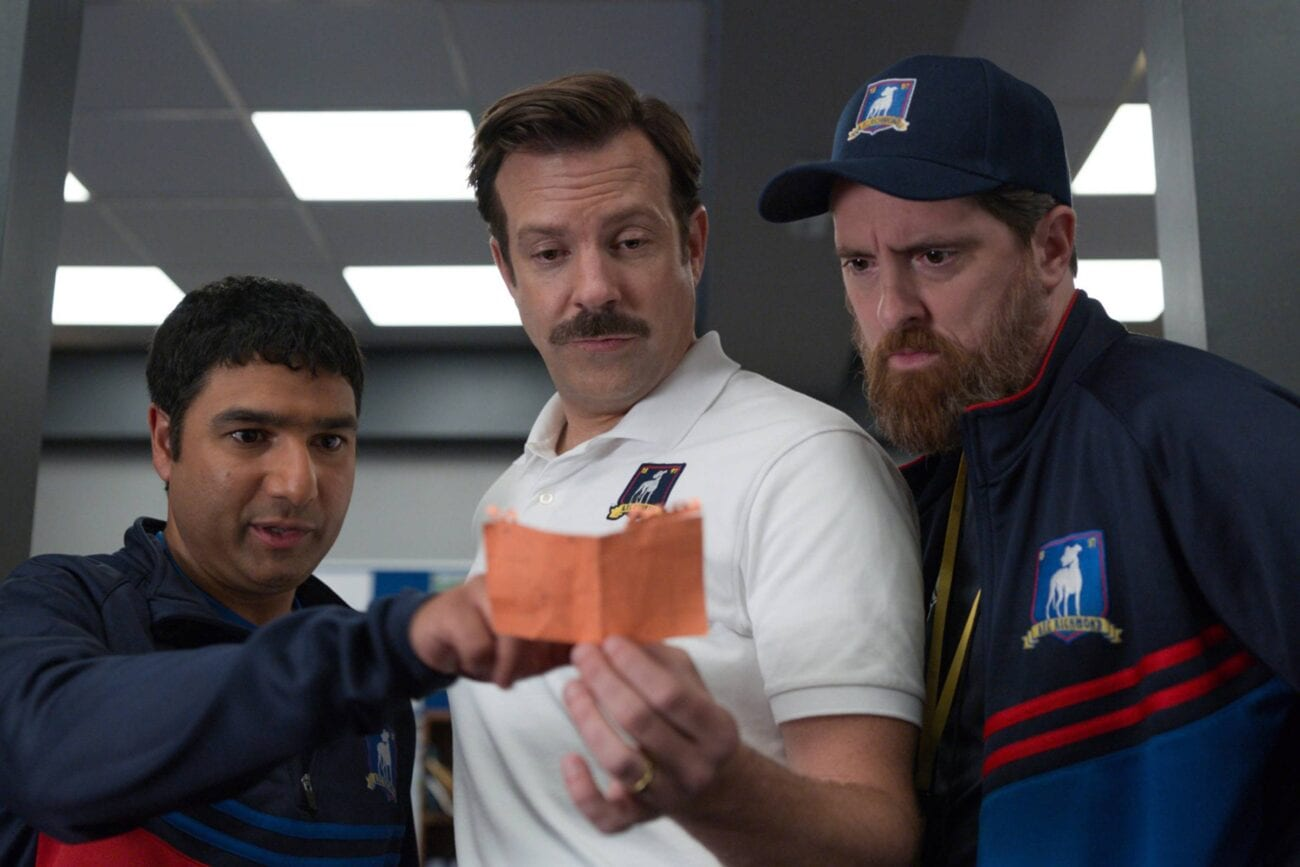 'Ted Lasso' is the TV sitcom we need in 2020. Run through the cast and find out what makes the sitcom so enjoyable.