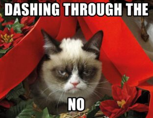 Are you a Christmas poet and don't know it? Have a jolly good time spreading cheer with the merry memes that you see here!
