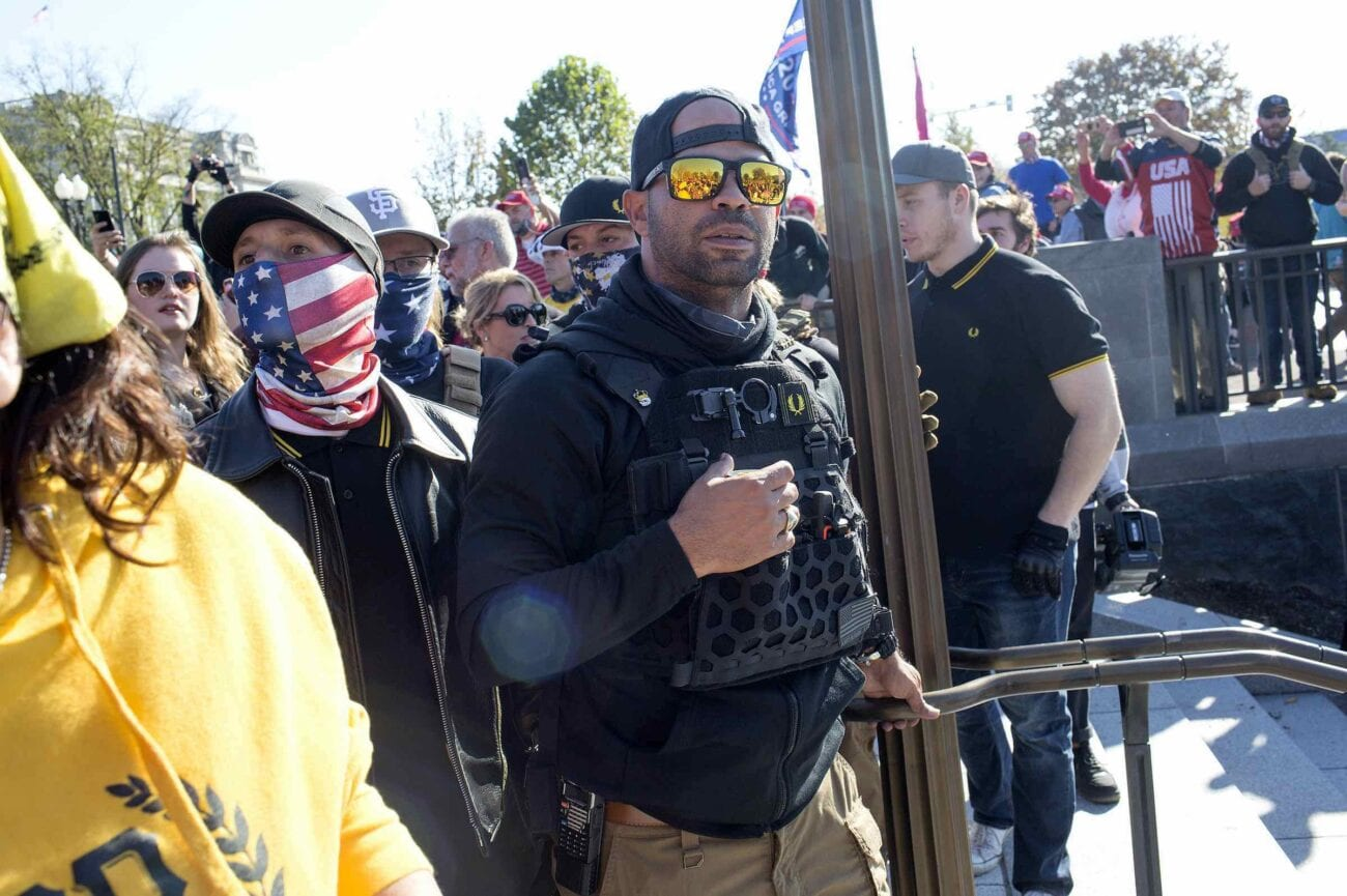 A leader of the group known as the Proud Boys was arrested in Washington D.C. Why was he arrested and why does this matter?